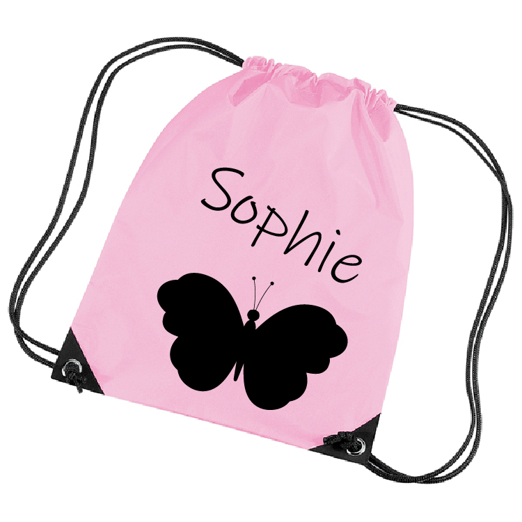 67ac87433ba SRGeschenken | Gymtas licht roze bedrukken - Ontwerp je cadeau!