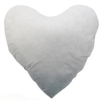 Kussenvulling voor een harten kussensloop