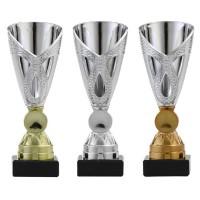 Goud, zilver en brons sportprijs
