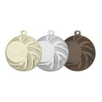 Medaille met zonnestralen