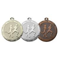 Hardloper op medaille