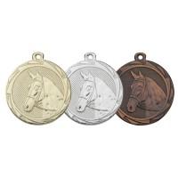 Een medaille met een paard