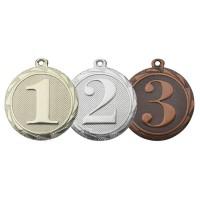 Medaille nr1, nr2 en nr 3